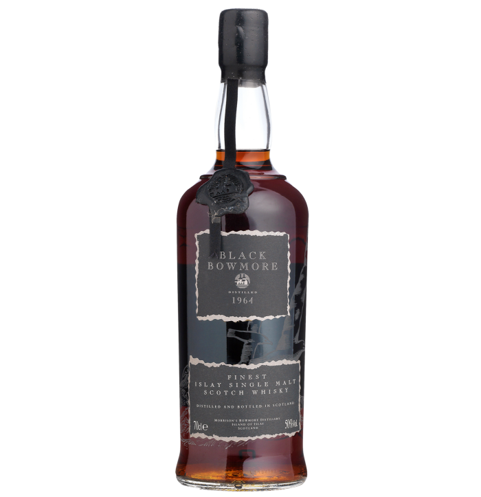 Bonhams sold a single bottle of Black Bowmore 1964 for £13,420 in March 2020