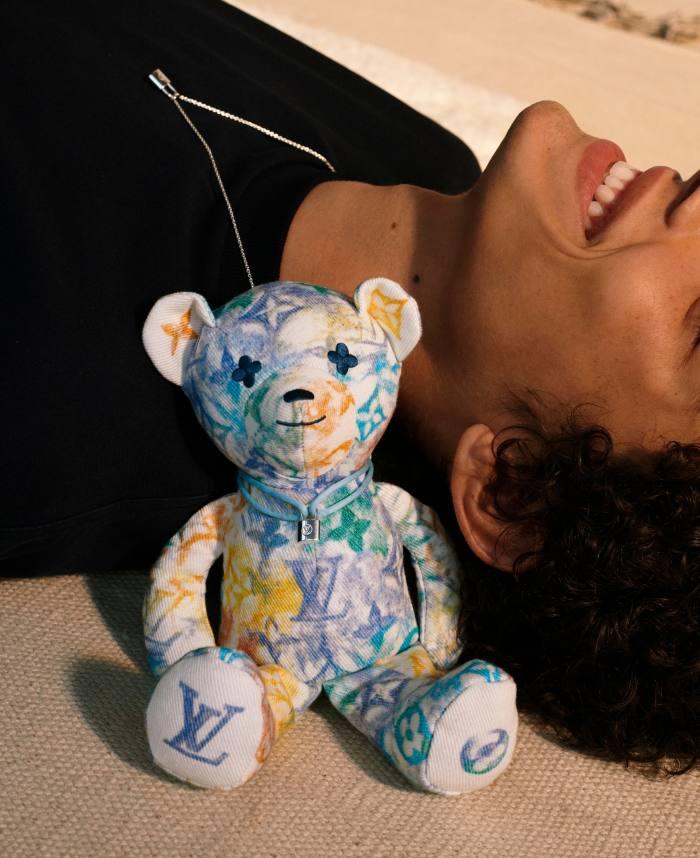 Louis Vuitton organic-cotton Doudou Louis teddy bear, $955 (with $200 donated to Unicef)
