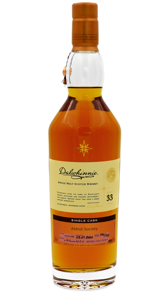 Dalwhinnie 1987, from the Diageo Casks of Distinction range, POA, email diageorareandexceptional@diageo.com