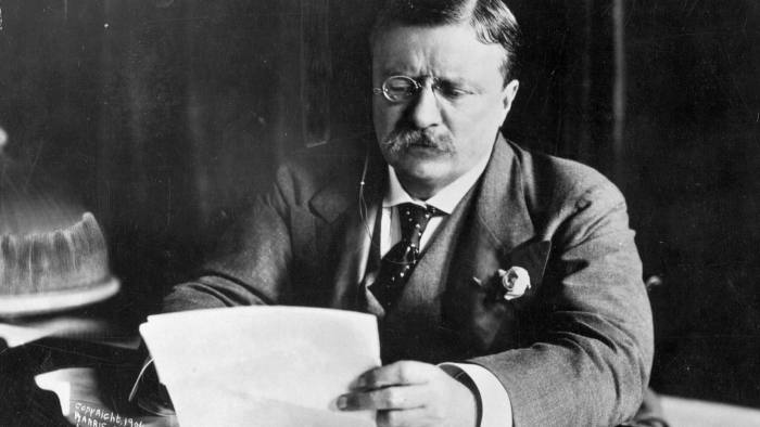 Theodore Roosevelt. Anti-monopoly trustbusting thrived under his presidency