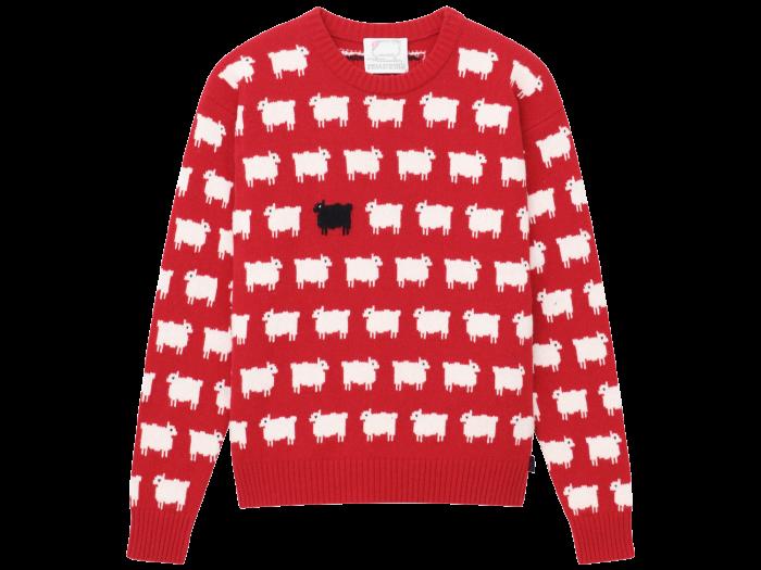 Warm & Wonderful for Rowing Blazers women's sweater, £250