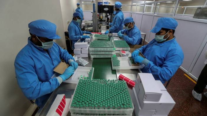India eyes global vaccine drive to eclipse rival China   Financial Times
