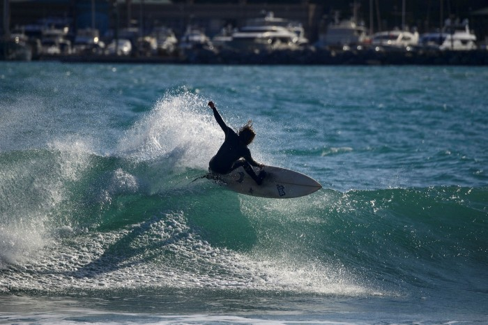 Not far from Genoa, picturesque Varazze is one of northern Italy's top surfing destinations