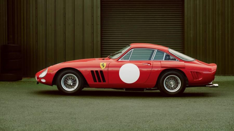 Driving the undriveable Ferrari