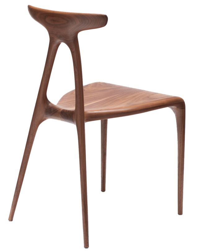 Made In Radio wood Alpha dining chair, £1,740