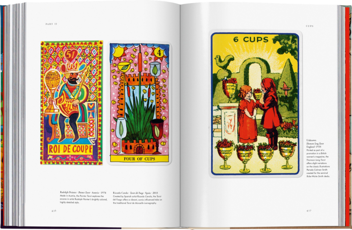 """""""Tarot"""" by Jessica Hundley, published by Taschen"""