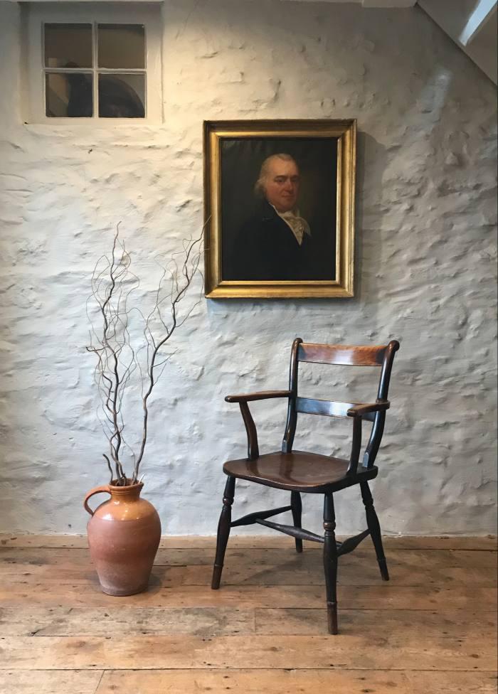A19th-century Windsor armchair,£7,800