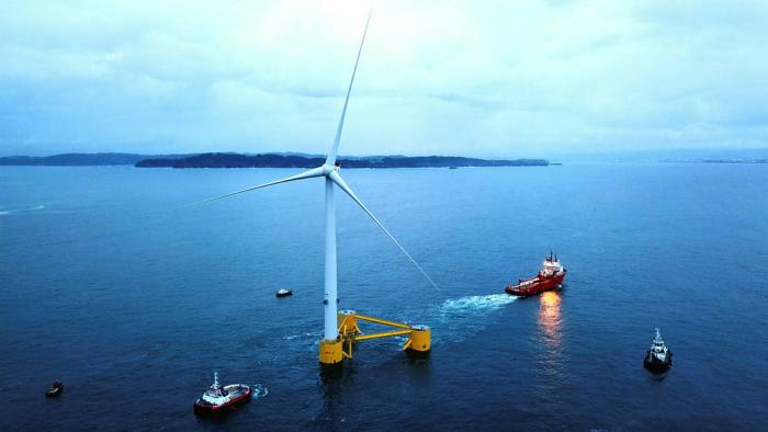 A Vestas wind power project