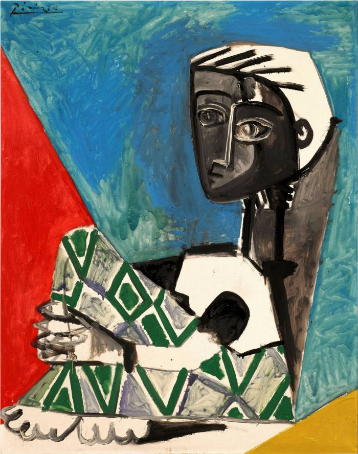 'Crouching Woman' by Pablo Picasso (1954)