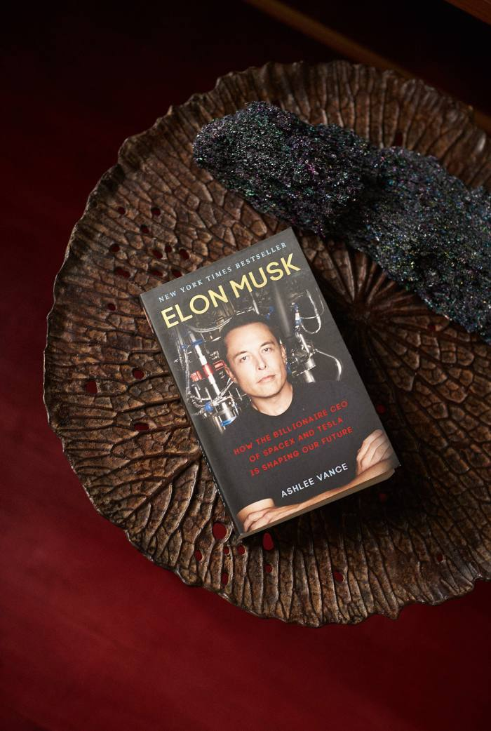 Tesla, SpaceX, and the Quest for a Fantastic Future by Elon Musk
