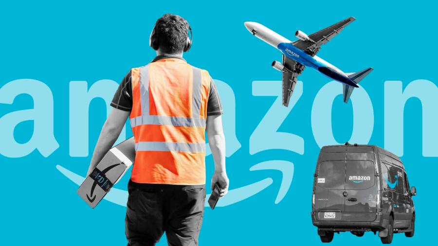 Amazon expands deliveries to serve unlikely clients: its rivals