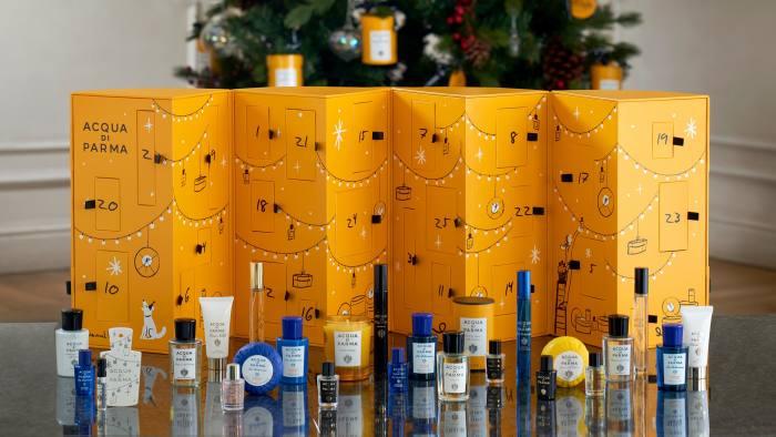Acqua di Parma's concertina-like Fragrance Advent Calendar