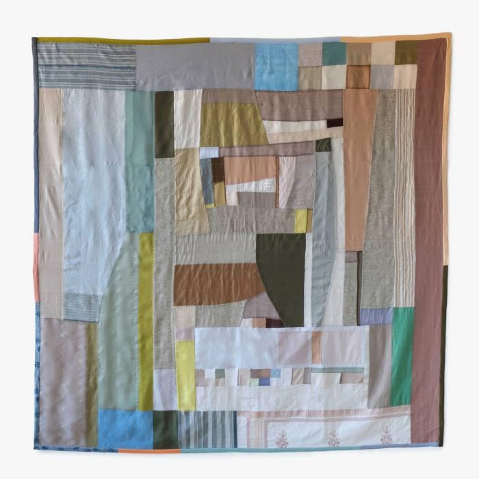 'Pastoral Landscape — Soft Neutrals' (2021) by Kiva Motnyk
