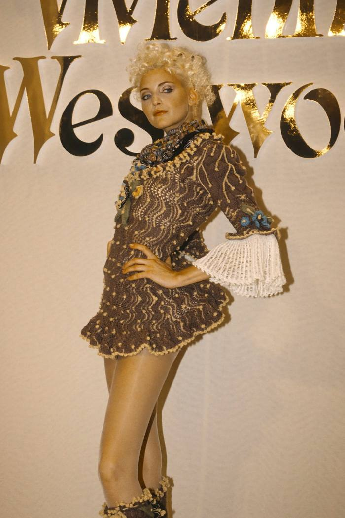.  .  .  and a Vivienne Westwood Fall / Winter 1994 hook look, available at One of a Kind for £ 6,500
