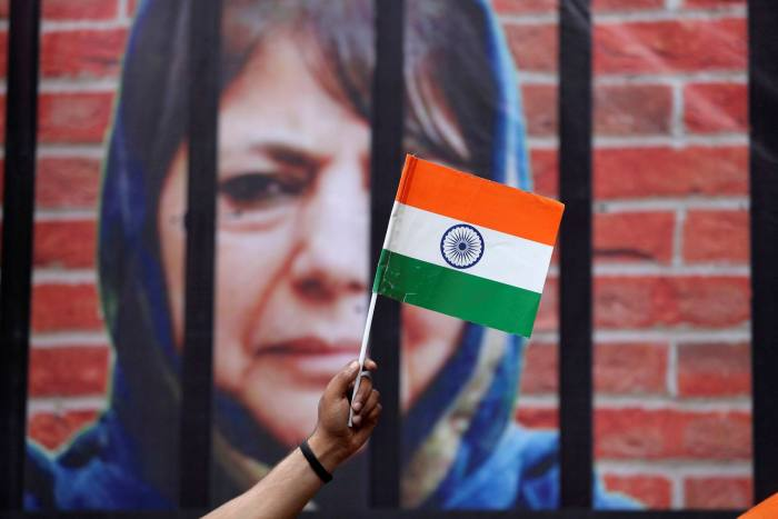 Mehbooba Mufti, a former chief minister of Jammu and Kashmir, was one of several regional leaders to hold talks with Narendra Modi last week
