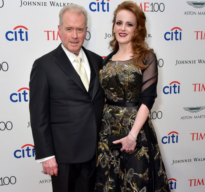 Robert Mercer and Rebekah Mercer attend the 2017 TIME 100 Gala at Jazz at Lincoln Center.