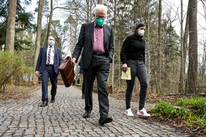 The popularity of Winfried Kretschmann, prime minister of Baden-Württemberg state, has helped keep the Greens in power