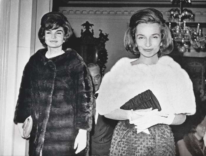 Jackie Onassis and Lee Radziwill at the Carlyle