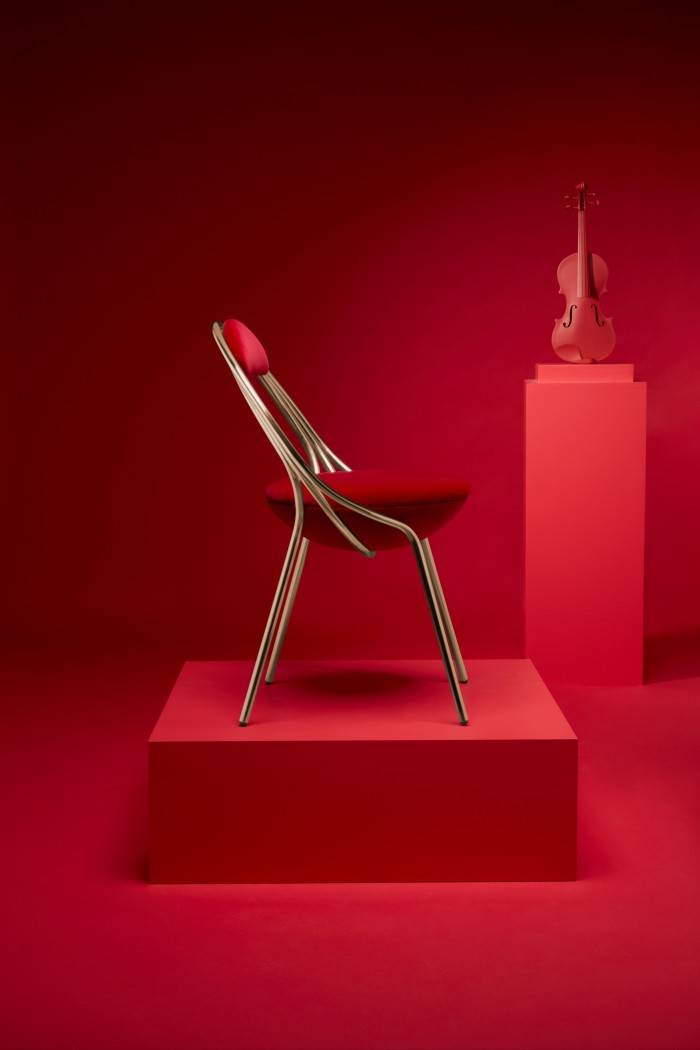 Lee Broom's new Maestro chair will be unveiled on 14 September