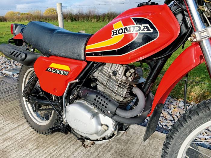 1979 Honda XL500, £3,595, from Somerset Classic Motorcycles