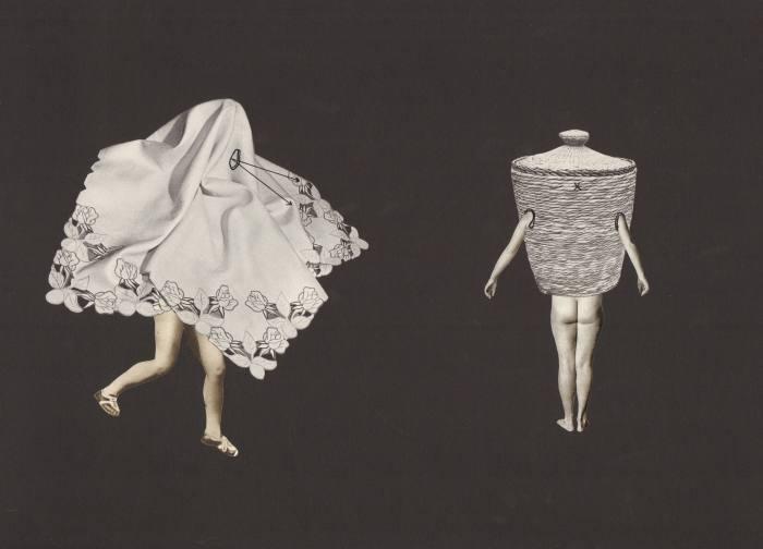 Untitled, 2016, by Eva Kotátková, from her series Mute Bodies