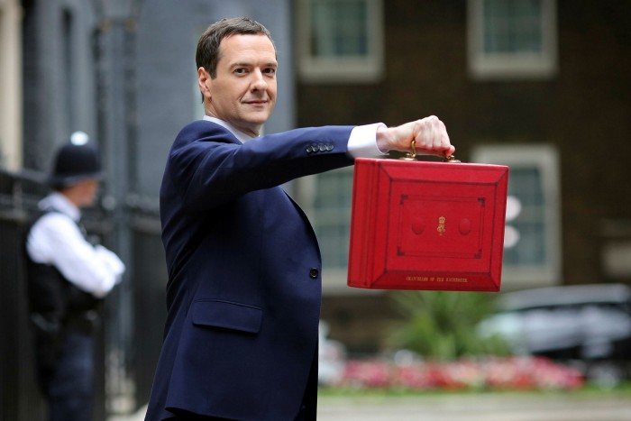 Former UK chancellor George Osborne maintained it was imperative to have a credible plan to reduce deficits in the public finances because that would give households the confidence to spend rather than save