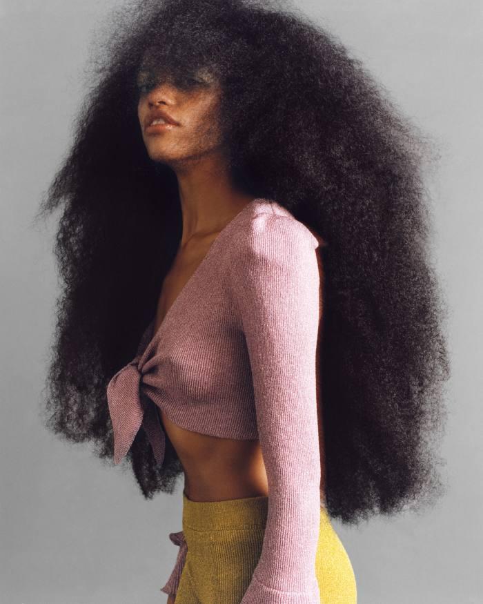 Hair by Cyndia Harvey for M Le Monde