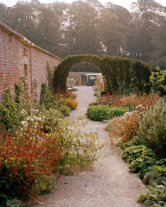 The Patrice Taravella-designed Victorian Fragrance Garden, influenced by the Arts and Crafts movement