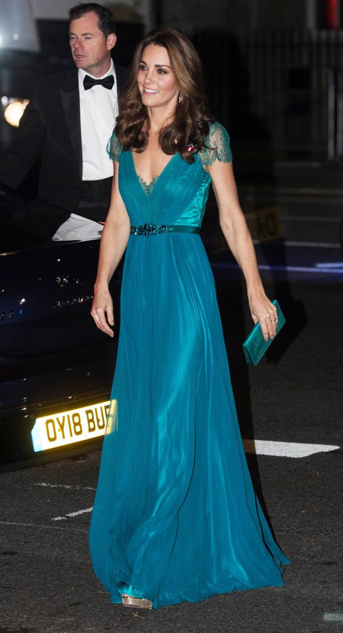 The Duchess of Cambridge at the Tusk Conservation Awards in 2018
