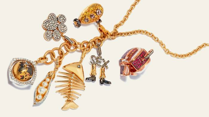 The seven charms Annoushka Ducas designed to represent her own life for her new jewellery project