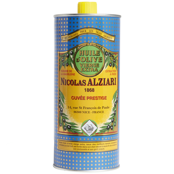 Nicolas Alziari extra-virgin olive oil, £35.99, selfridges.com