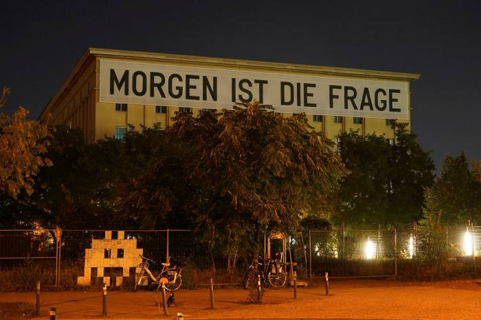 The Berghain club, 'the ultimate symbol of Berlin's hedonistic nightlife' and a huge tourist draw