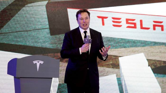 Tesla To Split Stock After Share Price Leap Financial Times
