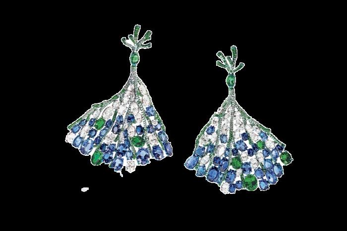 Corail de Chao earrings