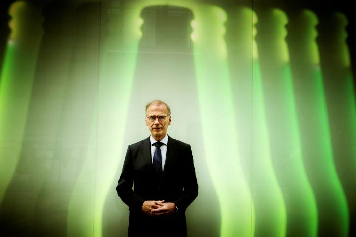 Carlsberg chief executive Cees't Hart