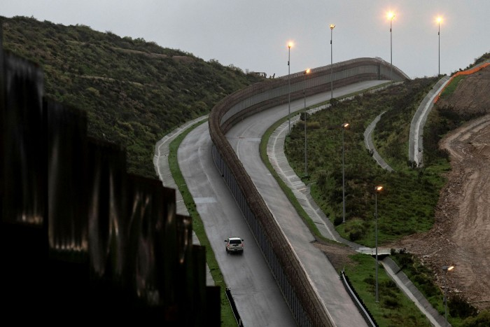 The Mexican border. Activists are concerned about experiments with border technology