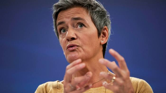 EU commissioner Margrethe Vestager has begun an inquiry into common ownership and competition ©AP