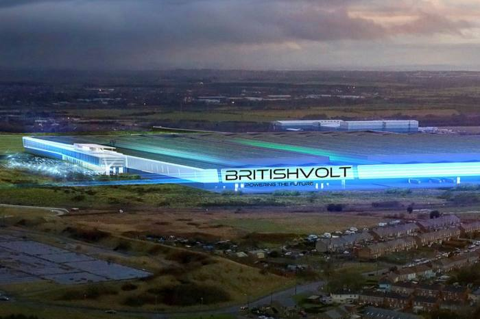 BritishVolt's proposed manufacturing plant in Blyth, Northumberland, is next to a power interconnector bringing renewable energy from Iceland.