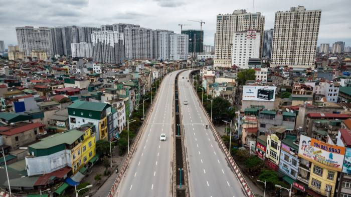 Vietnam Speeds Up Big Projects To Heal Economy From Pandemic Financial Times