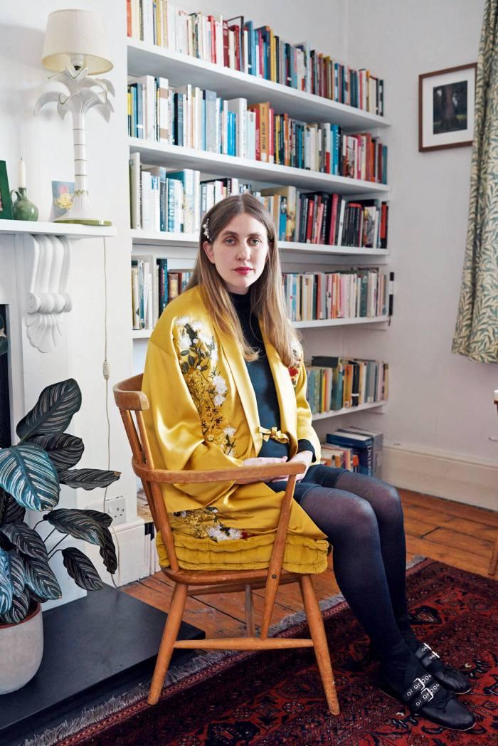 Fashion designer AliceArcher inher London home