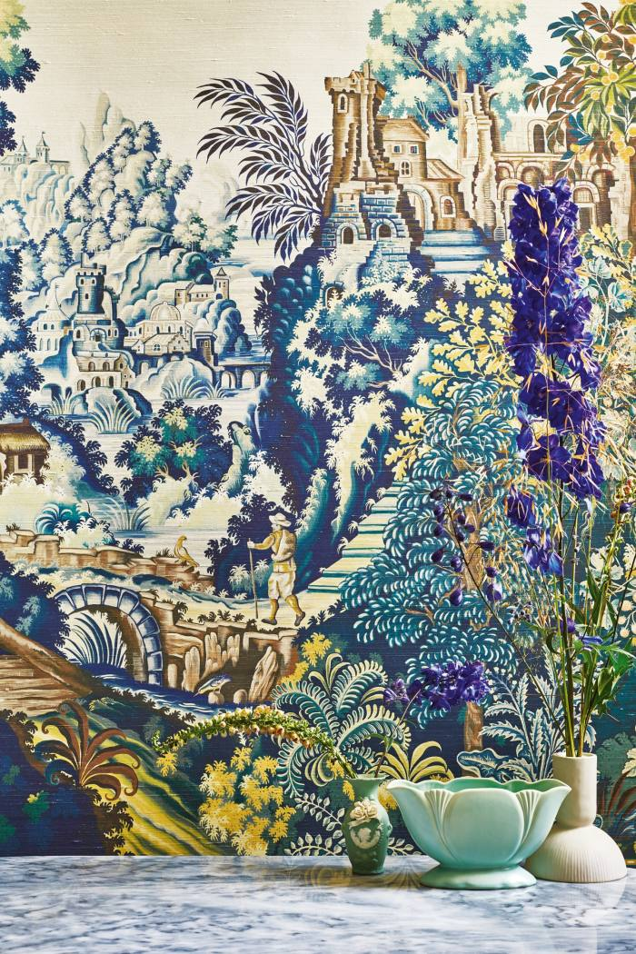 Cole & Son Great Masters Verdure Tapestry silk, £2,750 perpanel