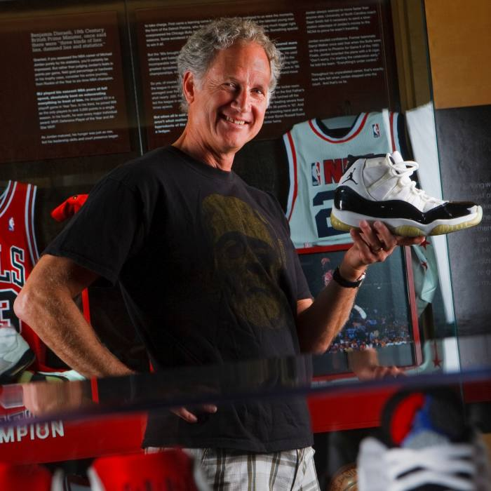 Tinker Hatfield, vice-president of creative concepts