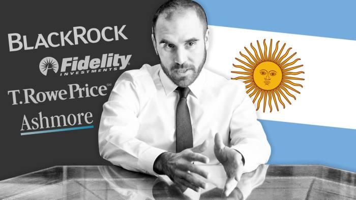 Bondholders say Argentina's economy minister Martín Guzmán is too dogmatic