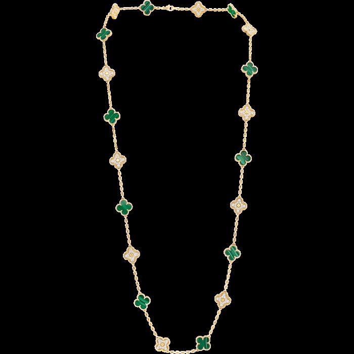 Van Cleef & Arpels Vintage Alhambra 20 Motif necklace, £50,600