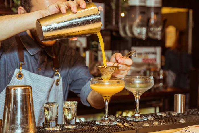 """Britain's most-ordered cocktail, the """"Pornstar Martini"""", has been a casualty of the supply problem owing to a shortage of  Passoã"""