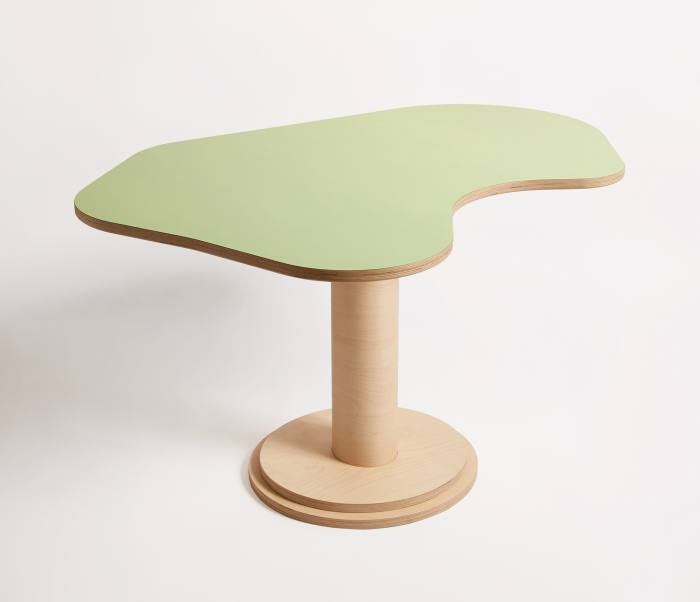 Wiggle room Birch dining table, $1,280