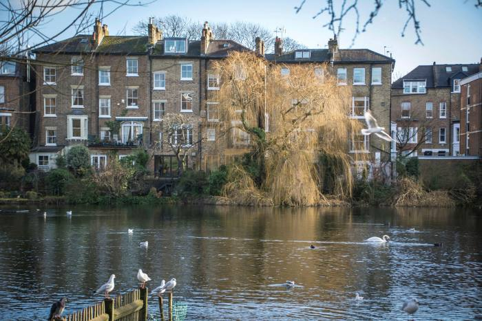 Affluent areas such as Hampstead, in north London, saw big discounts on prime rentals