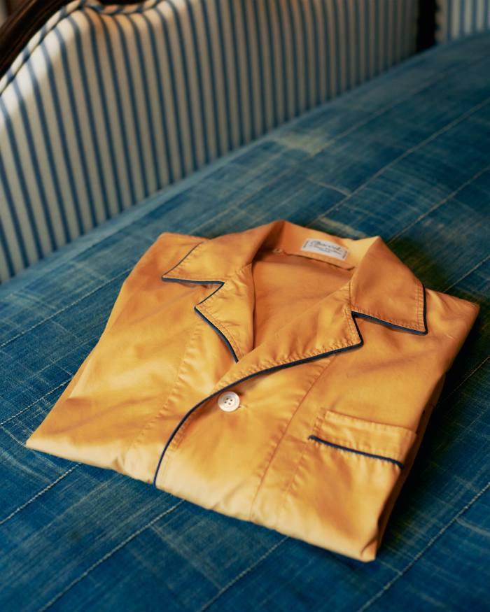 Chung's Charvet men's pyjama shirt