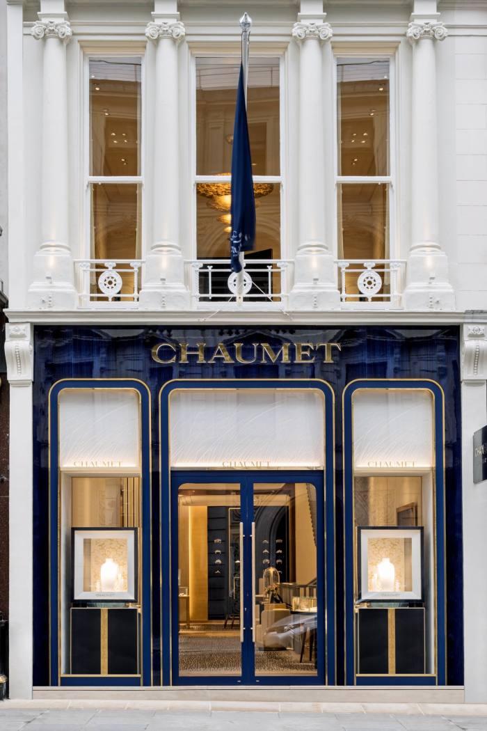 Chaumet's New Bond Street boutique