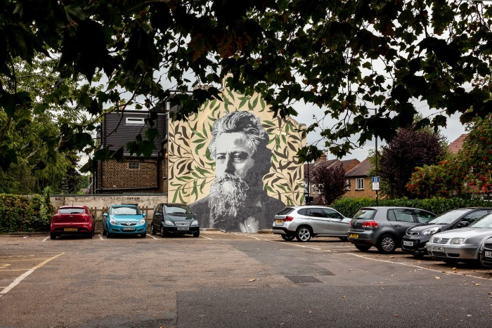 The William Morris Route is connected by street art from the Wood Street Walls to Blackhorse Road